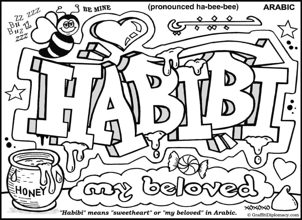 1024x745 Habibi Means Sweetheart In Arabic