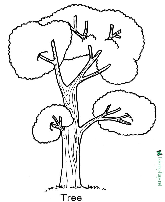 670x820 Arbor Day Coloring Pages