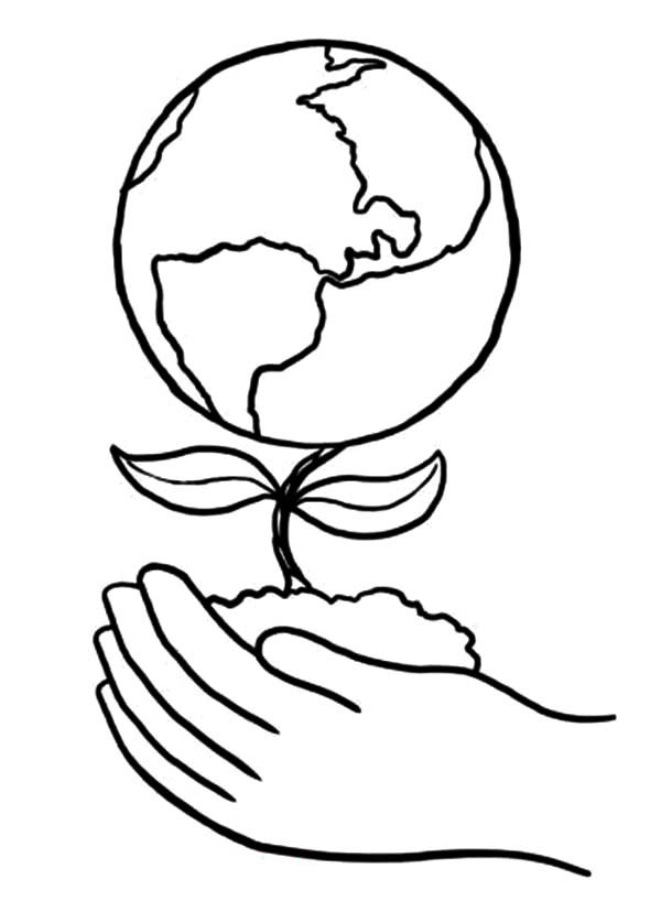 600x828 Arbor Day Tree Coloring Pages