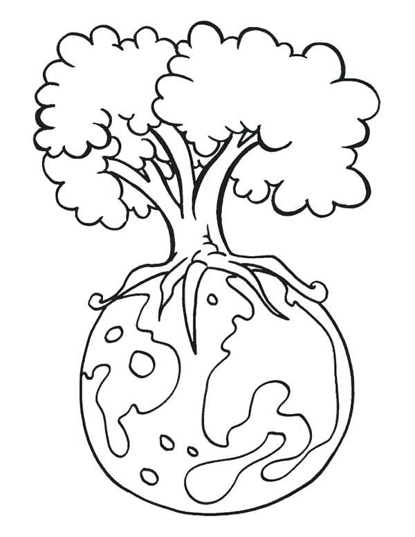 600x776 Save The Earth Coloring Pages Earth Day Save Our Forest On Earth