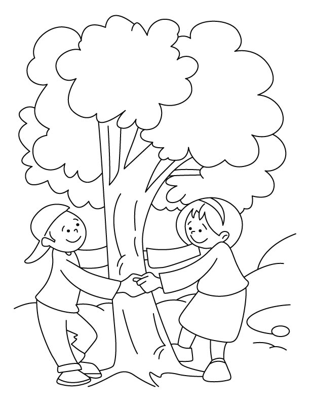 612x792 Top Arbor Day Coloring Pages For All Ages Downloadable