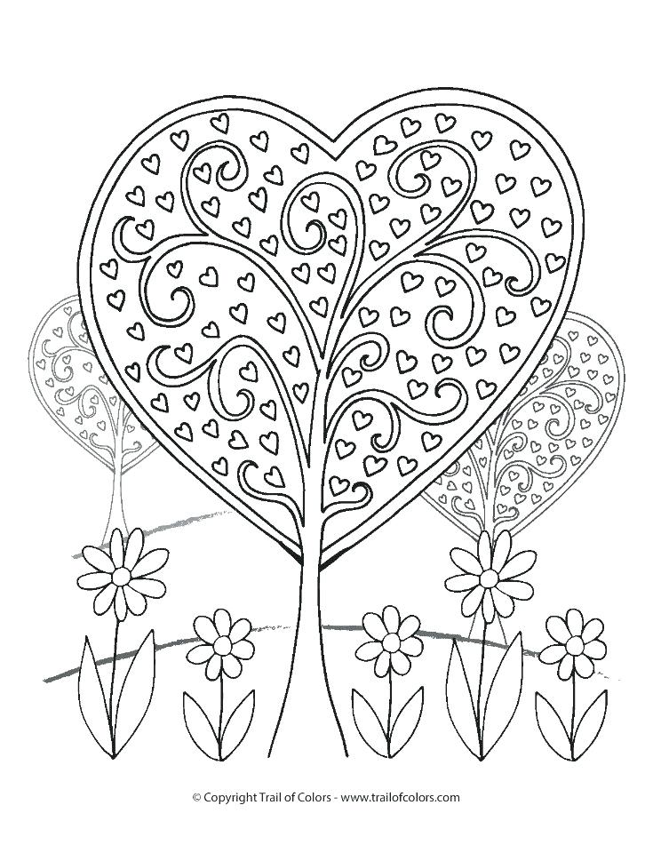 735x951 Trees Coloring Pages Arbor Day Coloring Pages Trees Coloring Pages