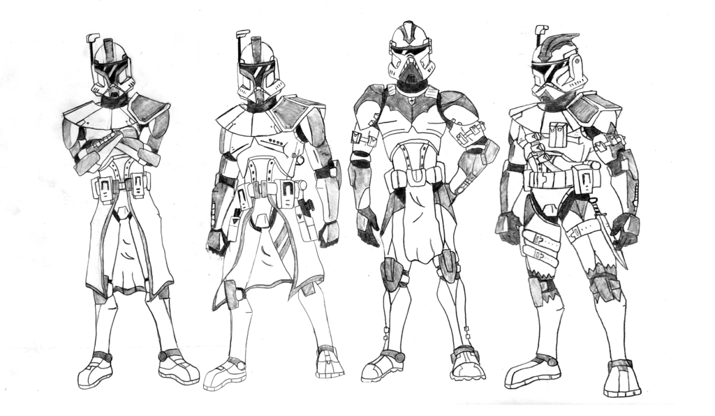 Arc Trooper Coloring Pages