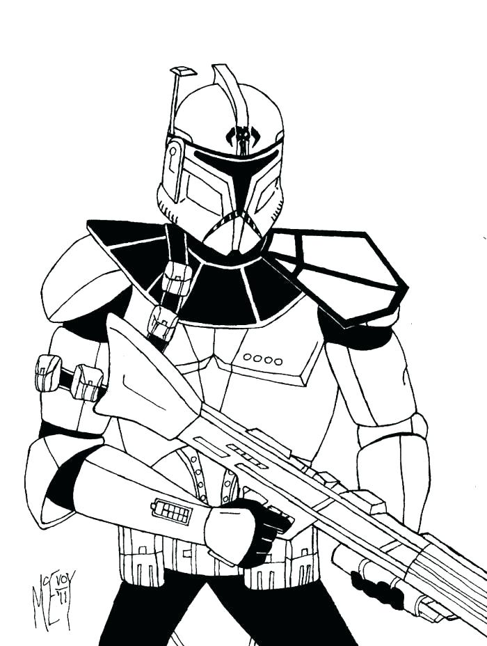 700x928 Star Wars Clone Coloring Pages Clone Trooper Coloring Page Clone