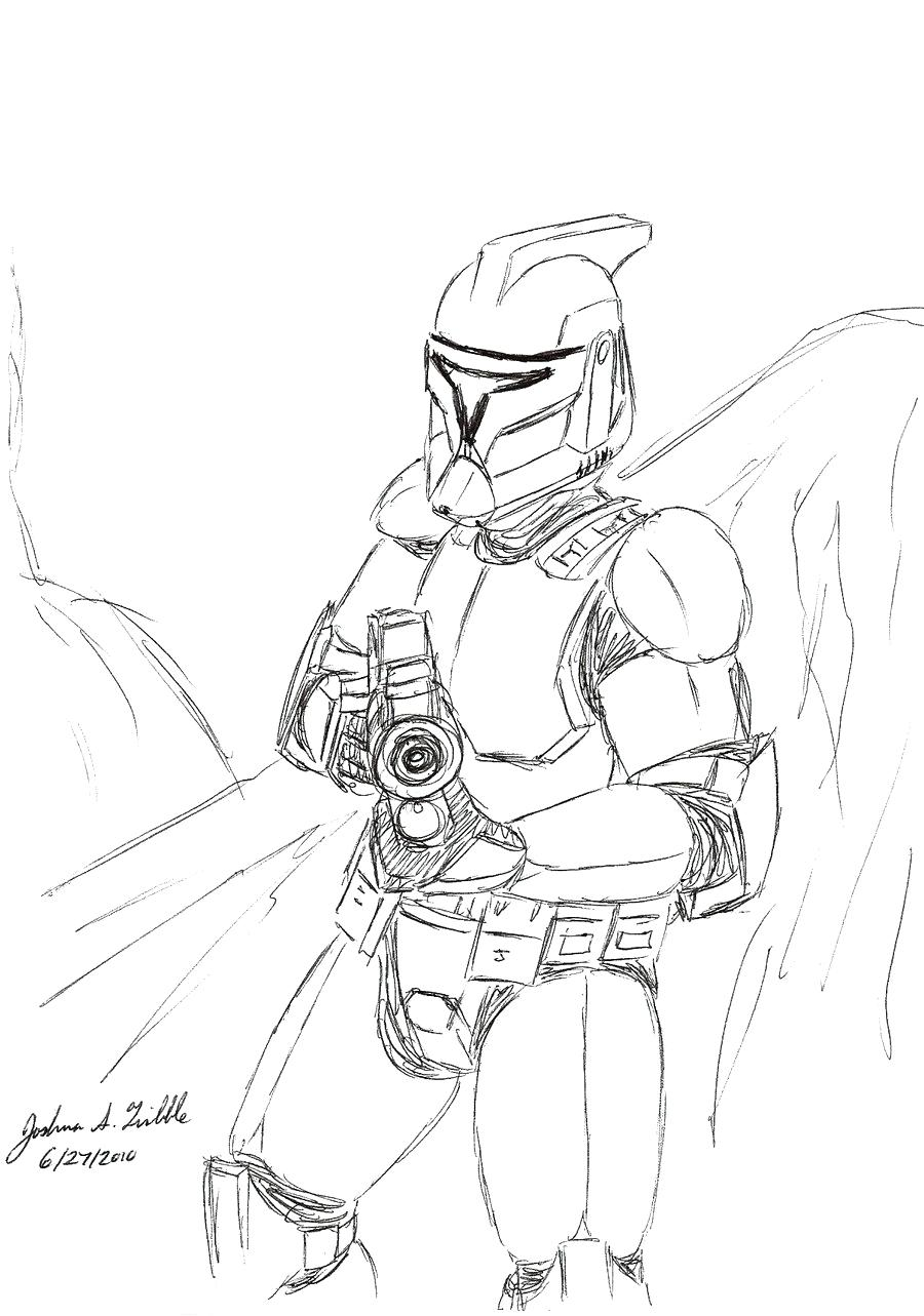 Arc Trooper Coloring Pages at GetDrawings | Free download