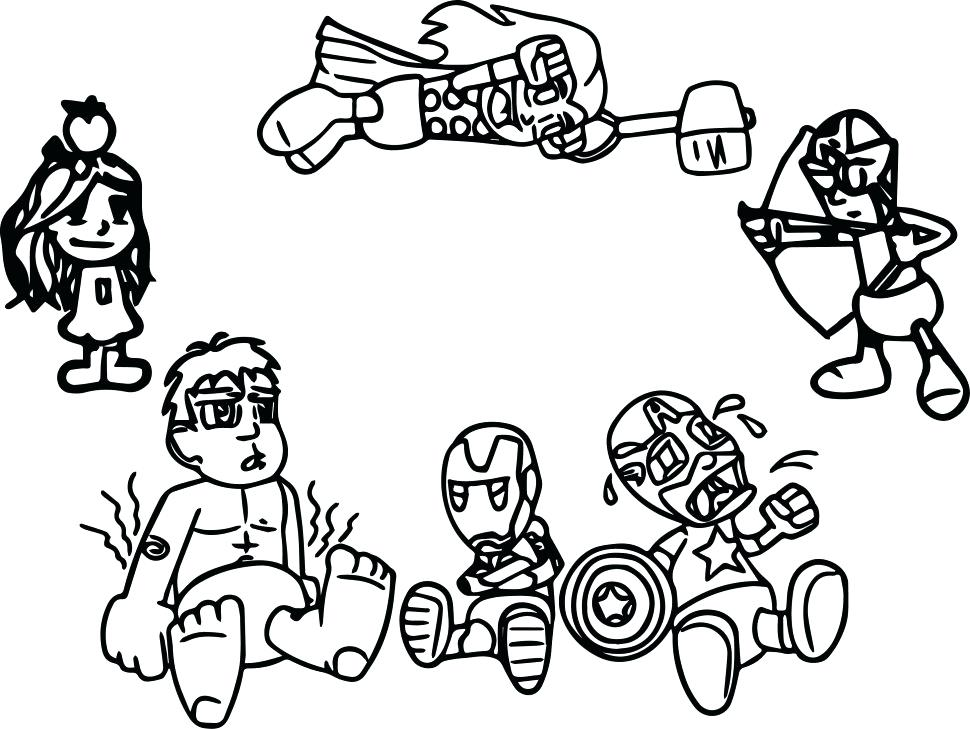 970x729 Printable Avengers Coloring Pages For Boys Arcade Games To Print
