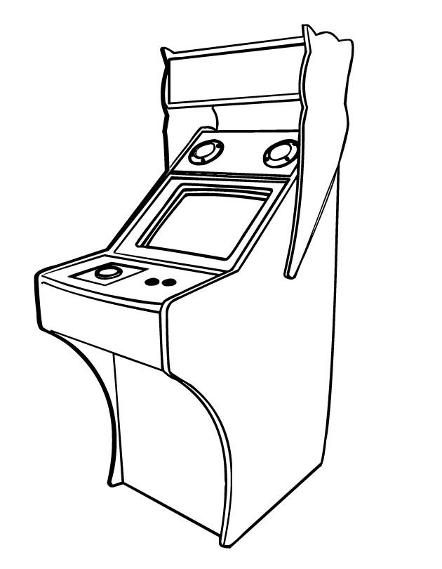 630x810 Video Game Coloring Pages