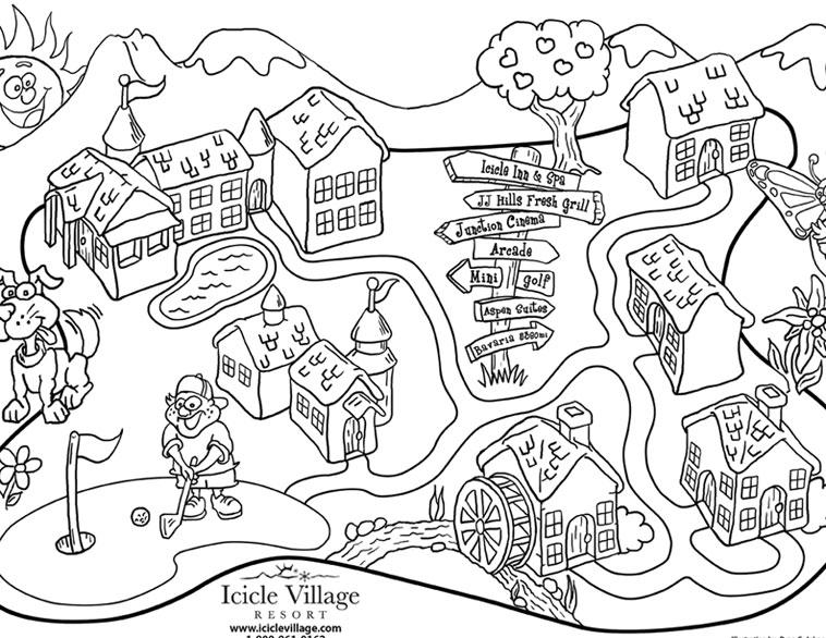 758x586 Aaffa Fresh Map Coloring Book