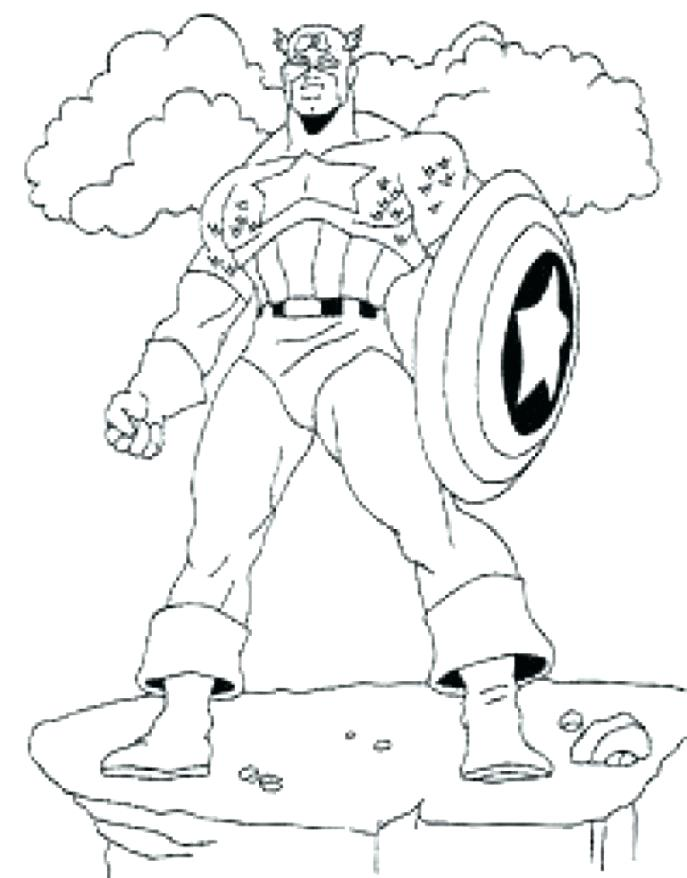 687x878 Avengers Coloring Games Avengers Coloring Pages In Addition