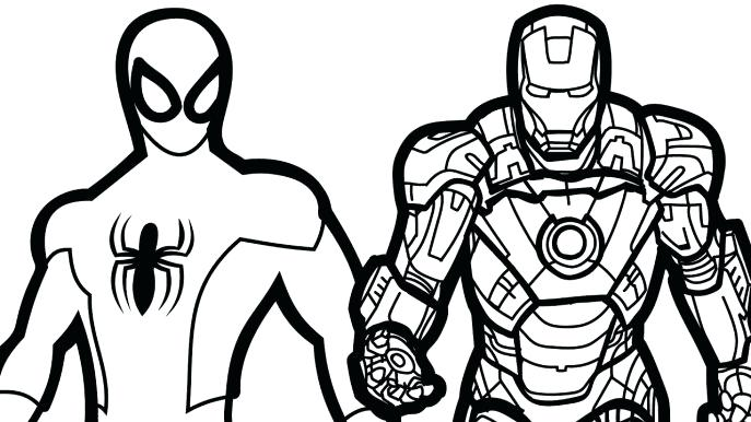 687x386 Avengers Coloring Medium Size Of Coloring Games Drawings Online