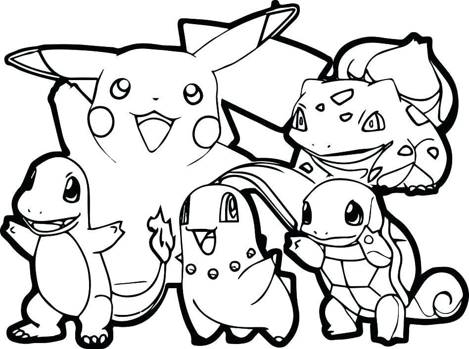 948x706 Printable Coloring Pages Pokemon Coloring Pages Color Pages