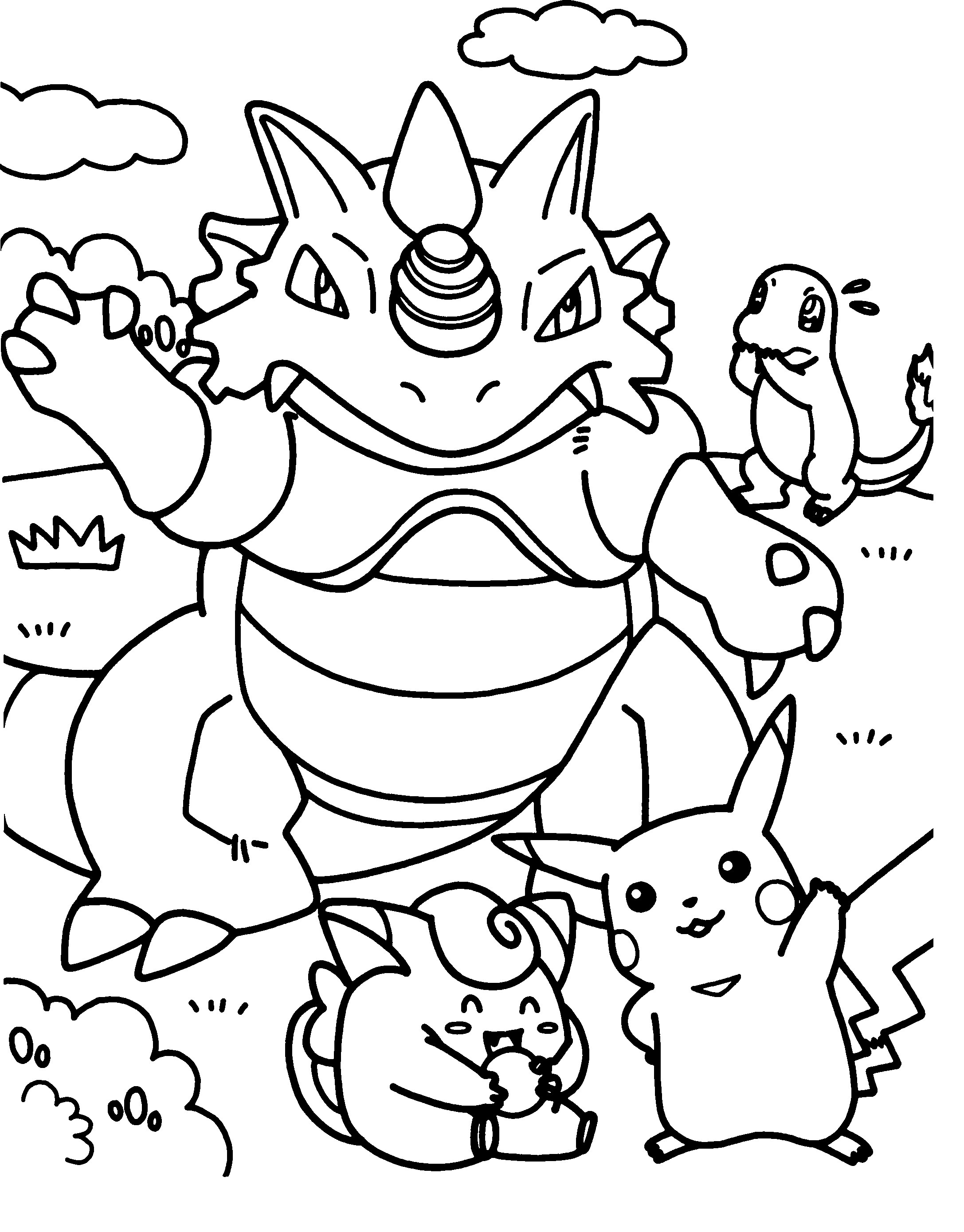 2174x2779 Printable Pokemon Coloring Pages Inspirational Fo Real Pokemon