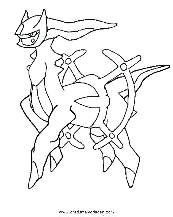 582x728 Arceus Coloring Pages Inspirational Coloring Pages Image
