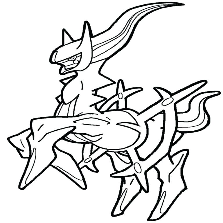 768x768 Arceus Coloring Pages Printable Coloring Pages Coloring Sheets