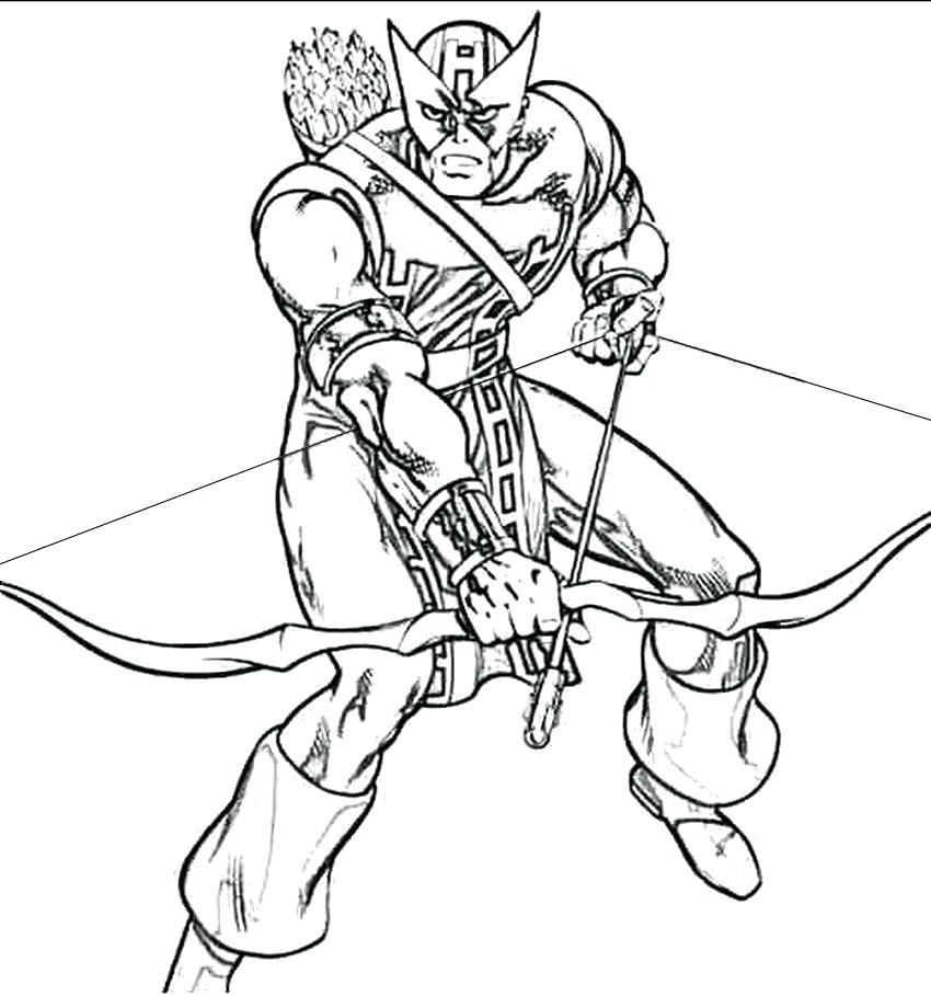 850x908 Coloring Pages Archer A Images Free