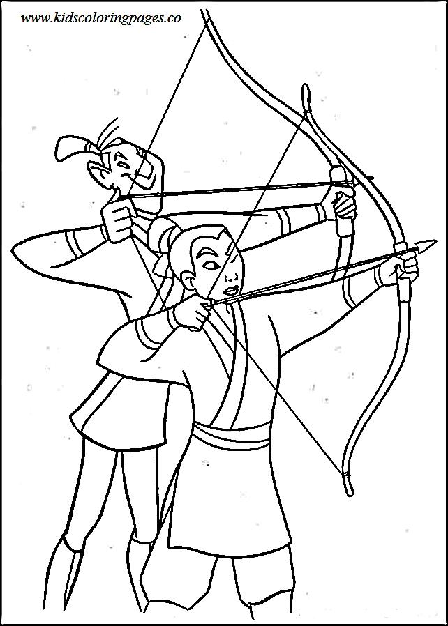 642x898 Mulan And Li Shang