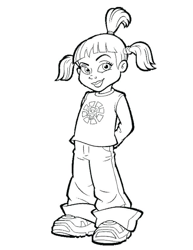638x825 Tv Coloring Page Kids Tv Character Coloring Pages