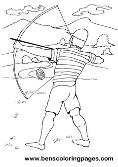 239x336 Archer Coloring Pages For Children