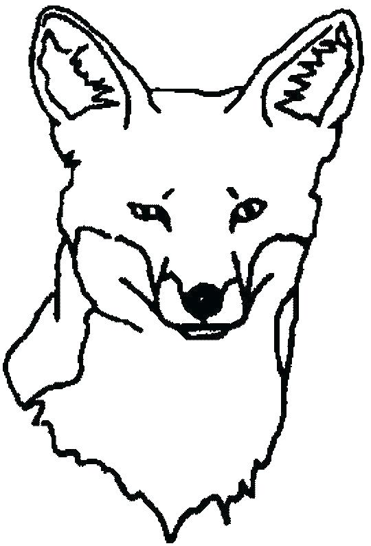 540x794 Printable Fox Coloring Pages Fox Coloring Pages Free Printable