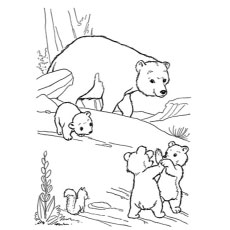 230x230 Top Free Printable Polar Bear Coloring Pages Online