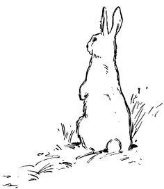 236x272 Arctic Hare Clipart