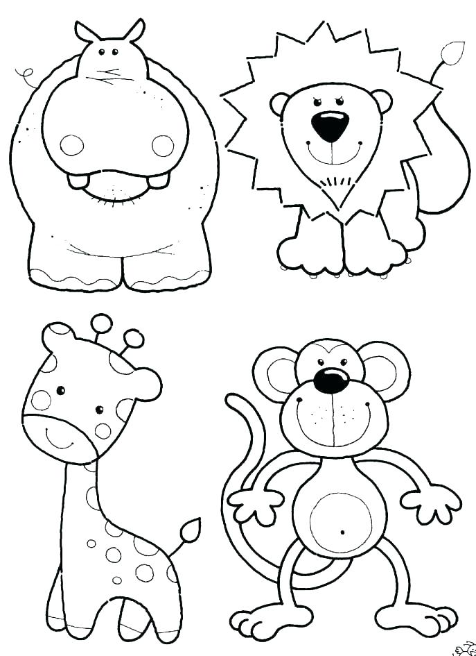 687x945 Polar Animals Coloring Pages Arctic Animal Coloring Pages Wild