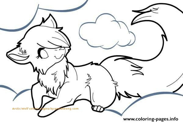 600x403 Anime Wolf Coloring Pages Printable Best Of Arctic Wolf Colorir