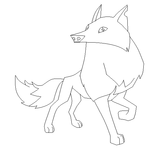 503x504 Animal Jam Arctic Wolf Coloring Pages Animal Jam Arctic Wolf Base