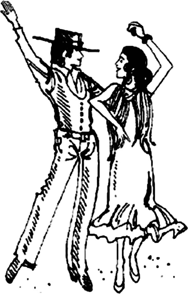 600x937 Images Of Modern Dance Coloring Pages