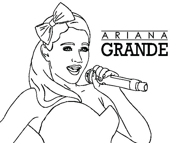 600x470 Ariana Grande Coloring Pages Coloring Pages For Adults Christmas