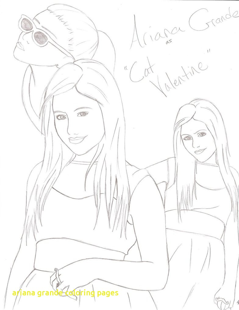 784x1018 Ariana Grande Coloring Pages With Page Incredible