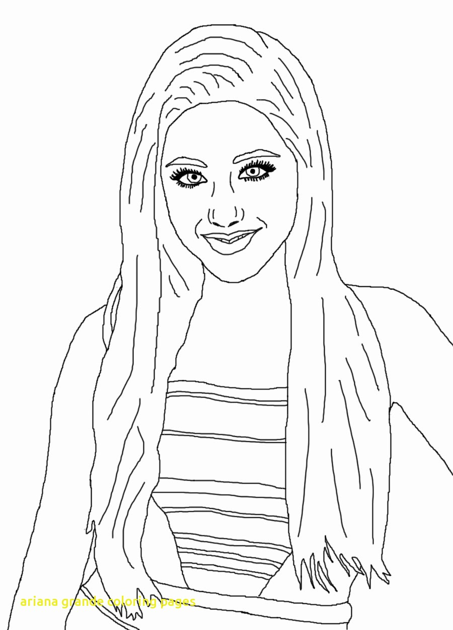 900x1252 Ariana Grande Coloring Pages With Ariana Grande Coloring Pages