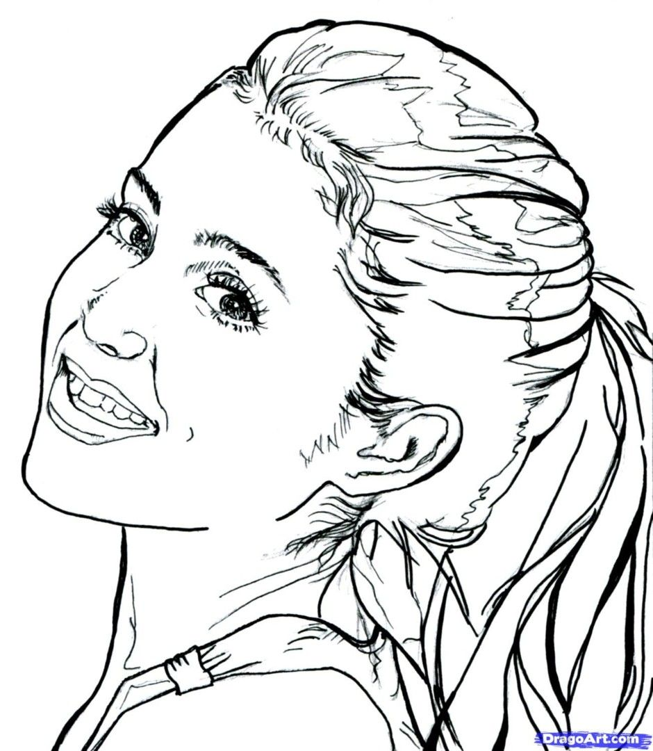 940x1080 Grande Coloring Pages
