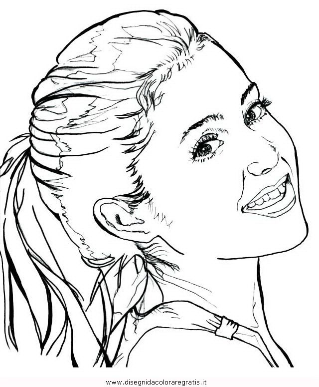 640x775 Ariana Grande Coloring Page Ariana Grande Coloring Pages To Color