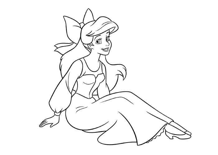 700x500 Ariel Y Eric Para Colorear Princess Coloring Pages Ariel Y Eric