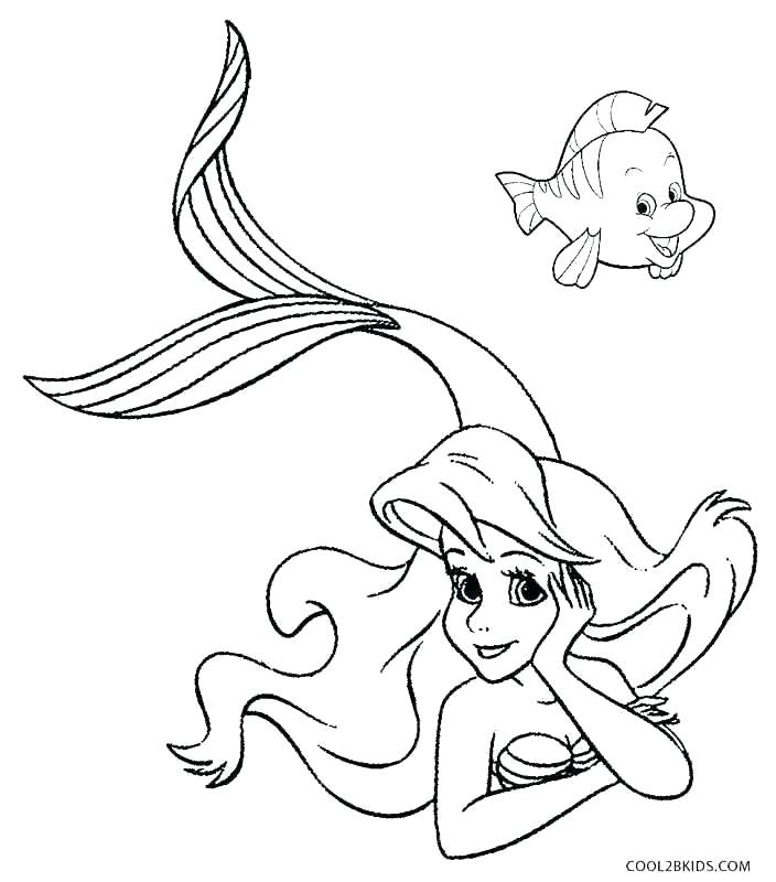704x800 Ariel Color Pages Related Post Disney Ariel And Eric Coloring