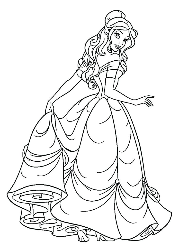 736x1031 Get This Printable Princess Coloring Pages Online Printable