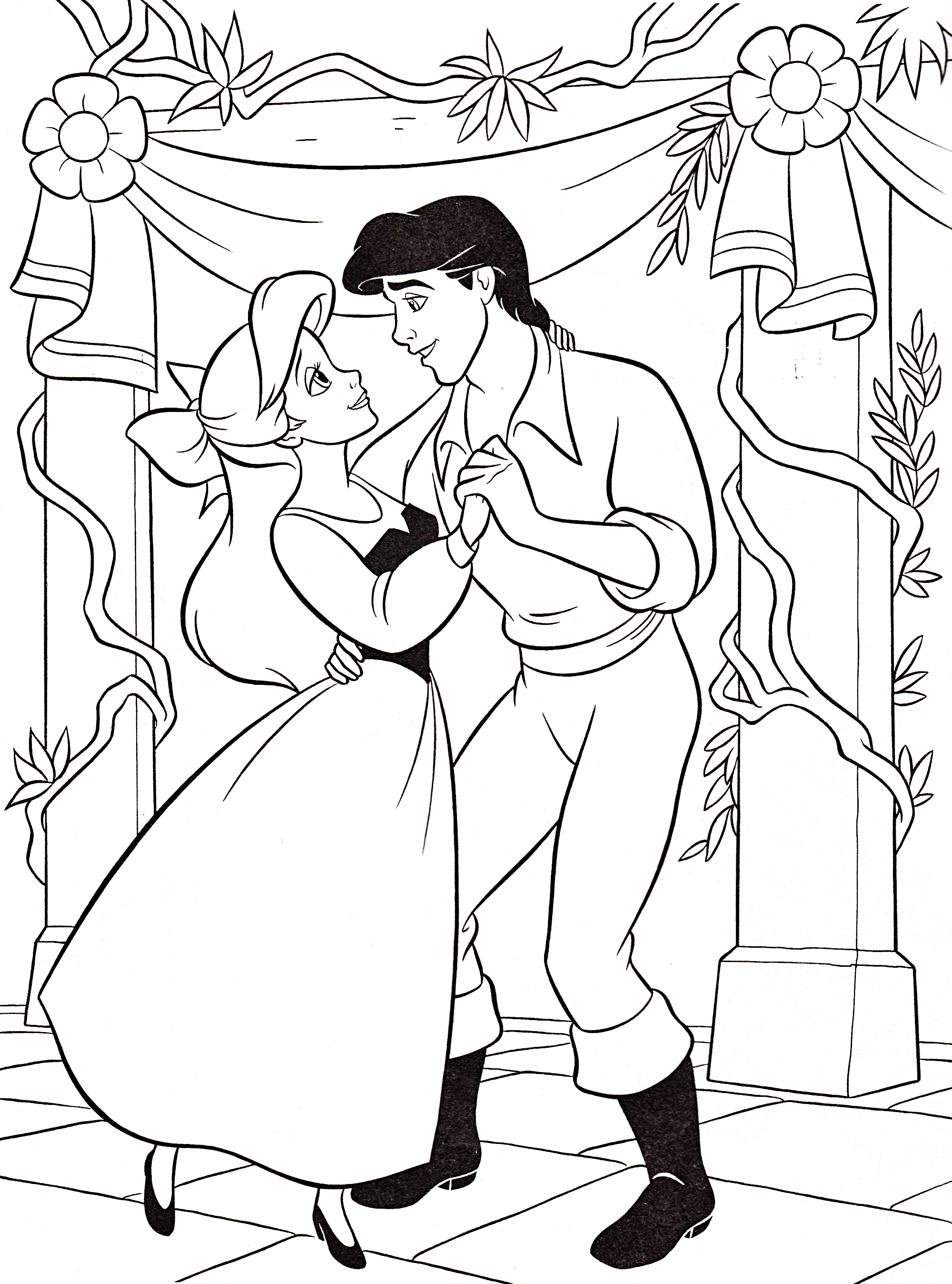 2000x2696 New Disney Princess Christmas Coloring Pages Gallery Printable