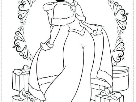 440x330 Princess Christmas Coloring Pages Princess Coloring Pages Princess