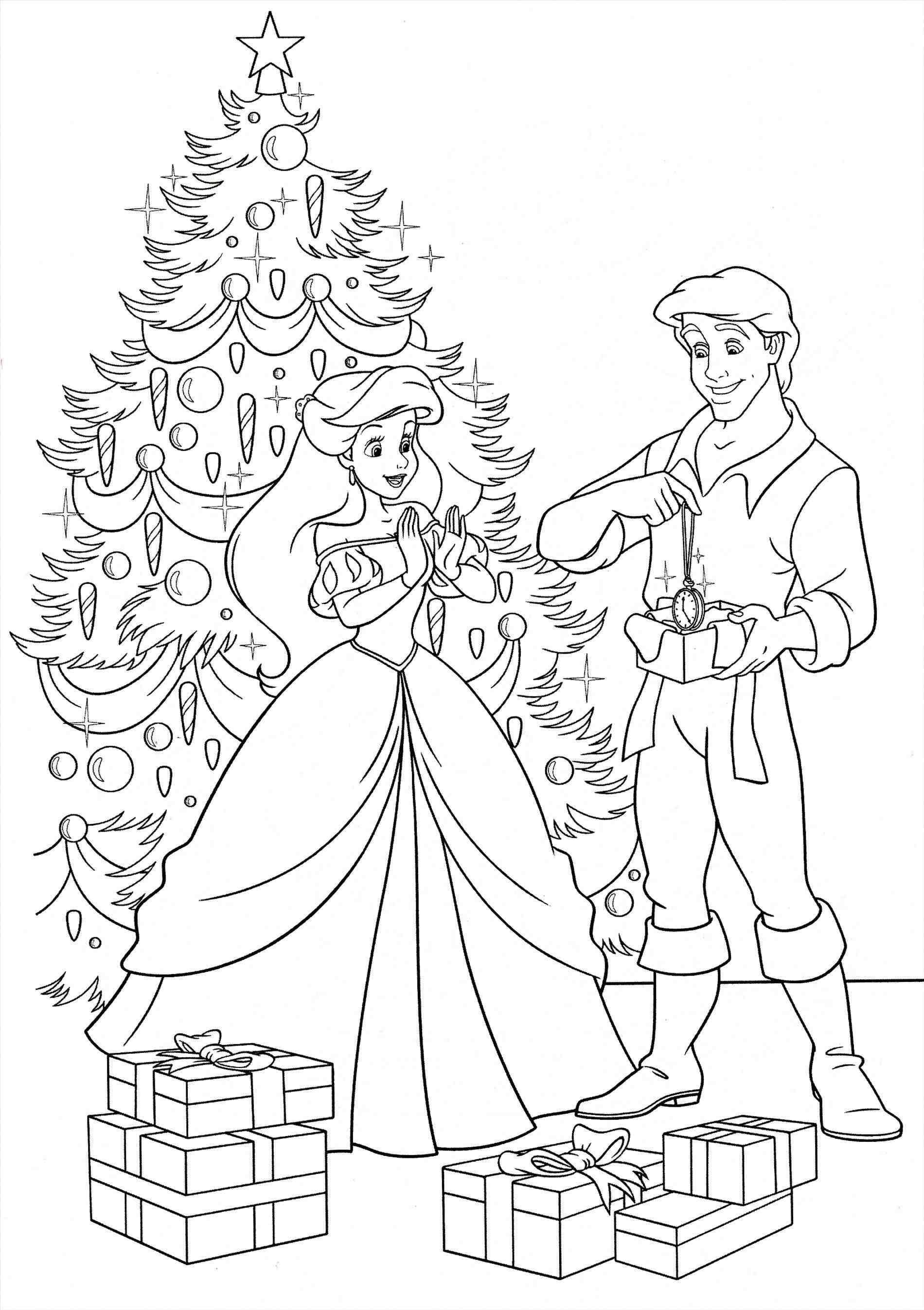 1900x2695 Ariel Christmas Coloring Pages Coloring Sheets