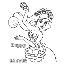 Ariel Coloring Pages Free At Getdrawings Com Free For Personal Use