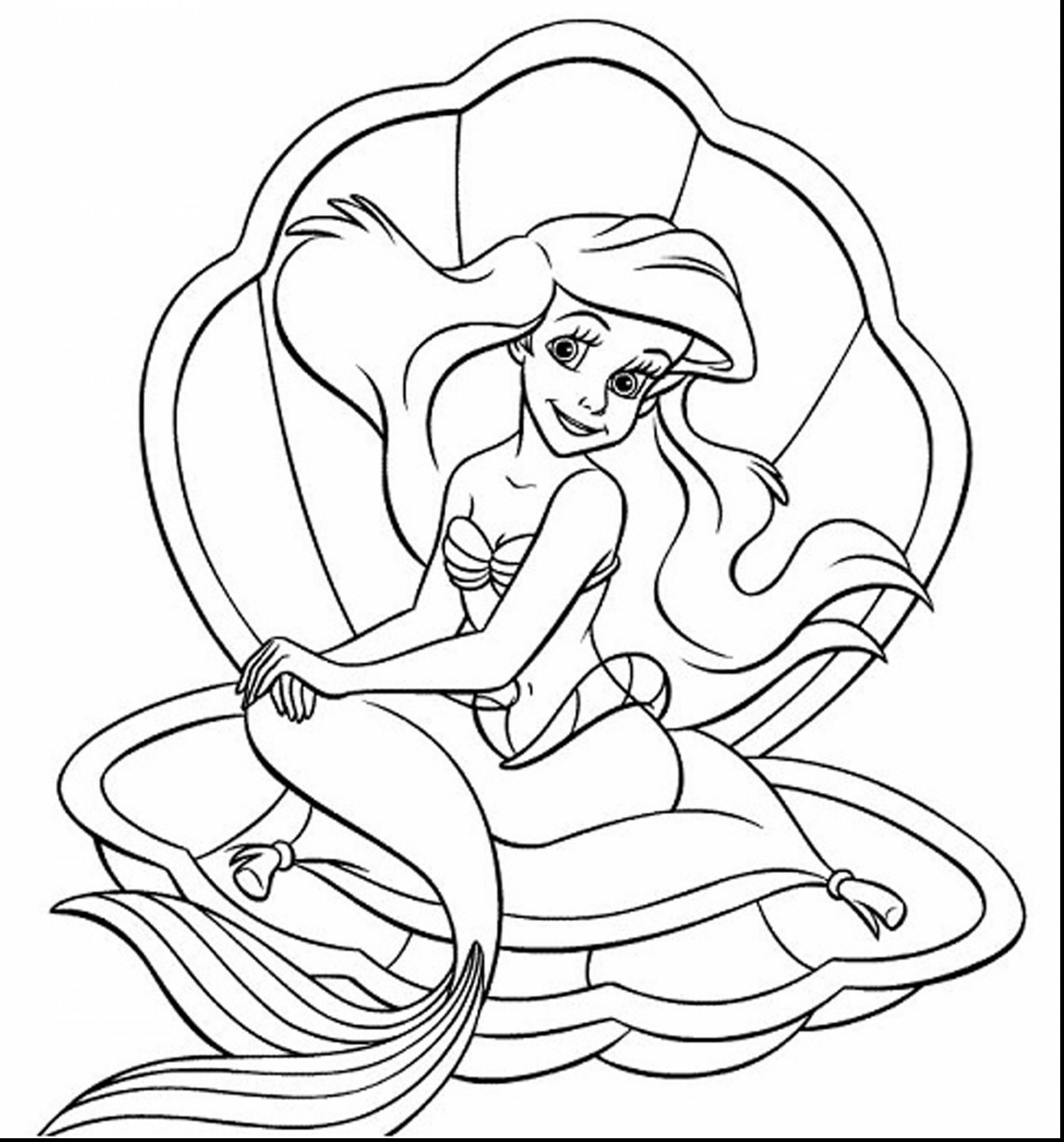 2805x3012 Ariel Coloring Pages Elegant The Little Mermaid Ariel And Prince