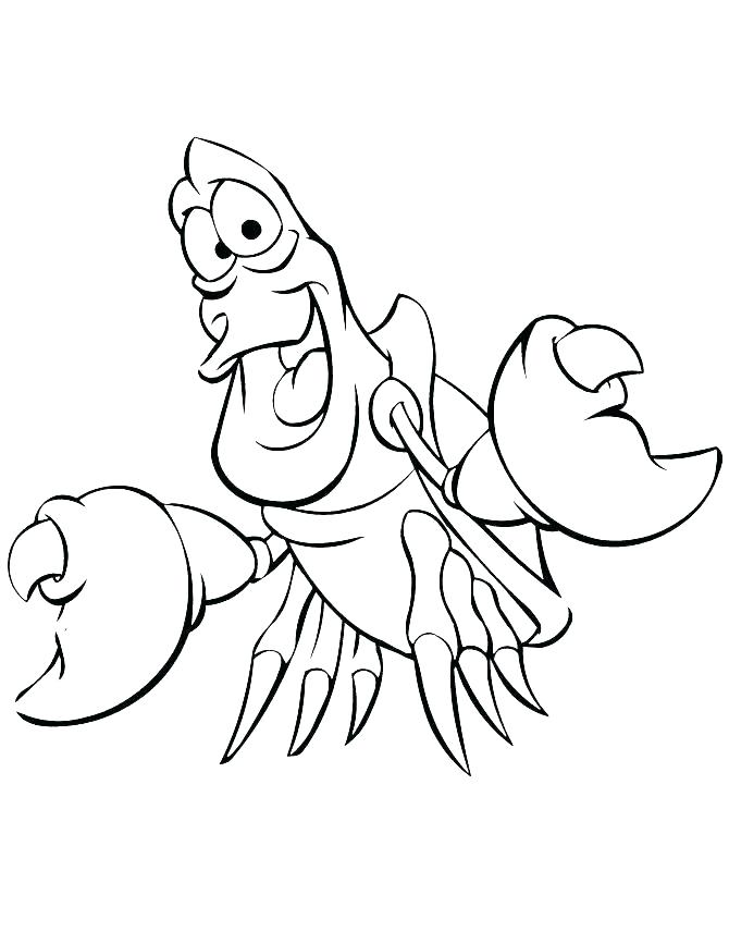 670x867 Ariel Printable Coloring Pages