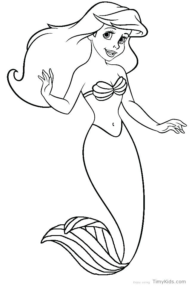 The Best Free Mermaid Coloring Page Images Download From 50 Free