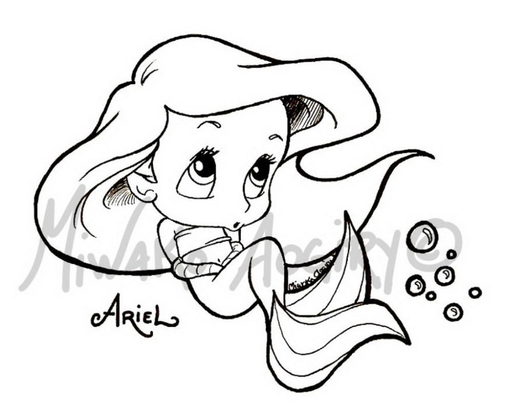 1024x800 Cute Chibi Coloring Pages Free For Kids Printable General