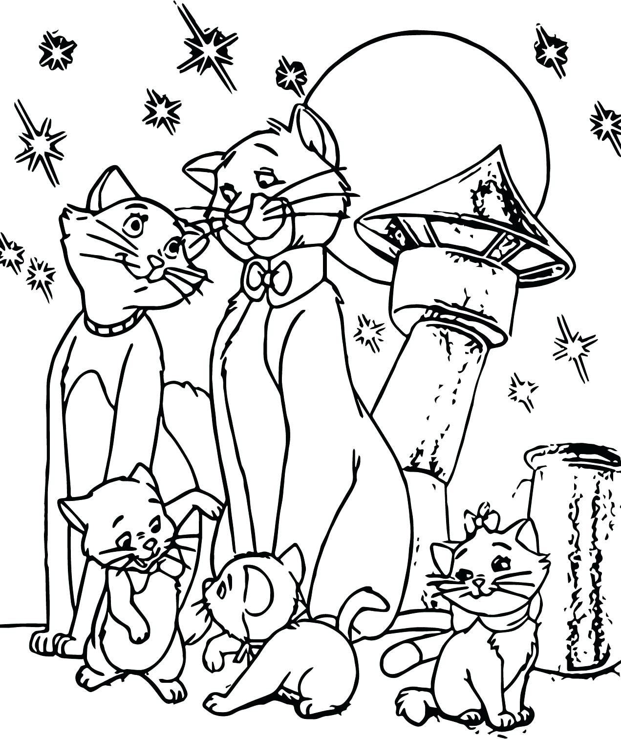 1271x1512 Disney Aristocats Marie Coloring Pages Art Throughout