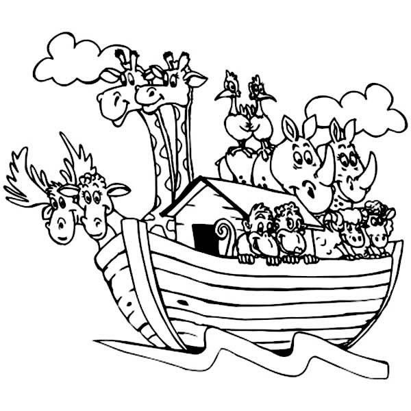 Ark Coloring Page