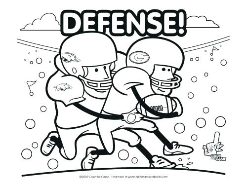 500x375 Arkansas Coloring Pages Coloring Pages Razorback College Football