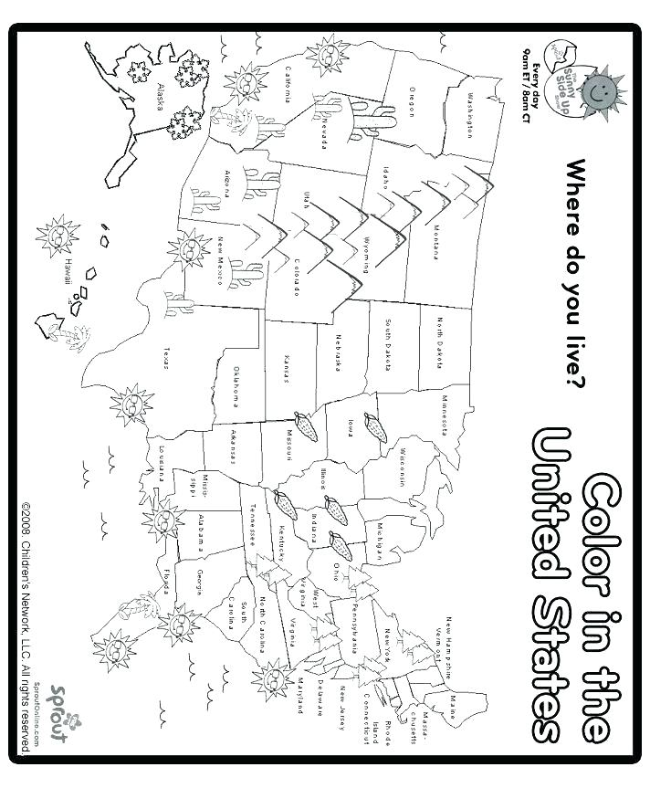712x863 Arkansas Coloring Pages Coloring Pages Us Map Coloring Page Draw