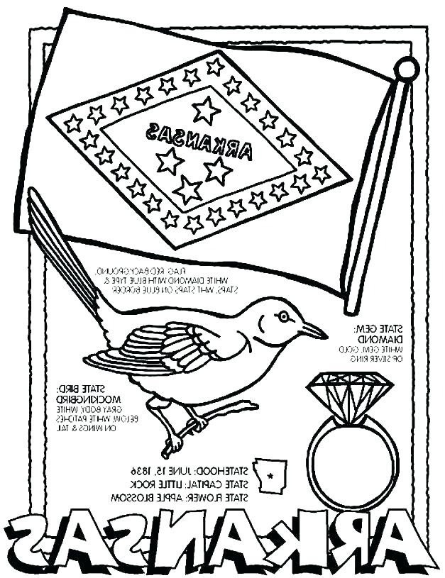627x815 Arkansas Coloring Pages Coloring Pages Coloring Pages Trail